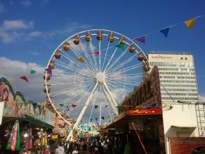Riesenrad auf dem Potsdamer Frühlingsfest